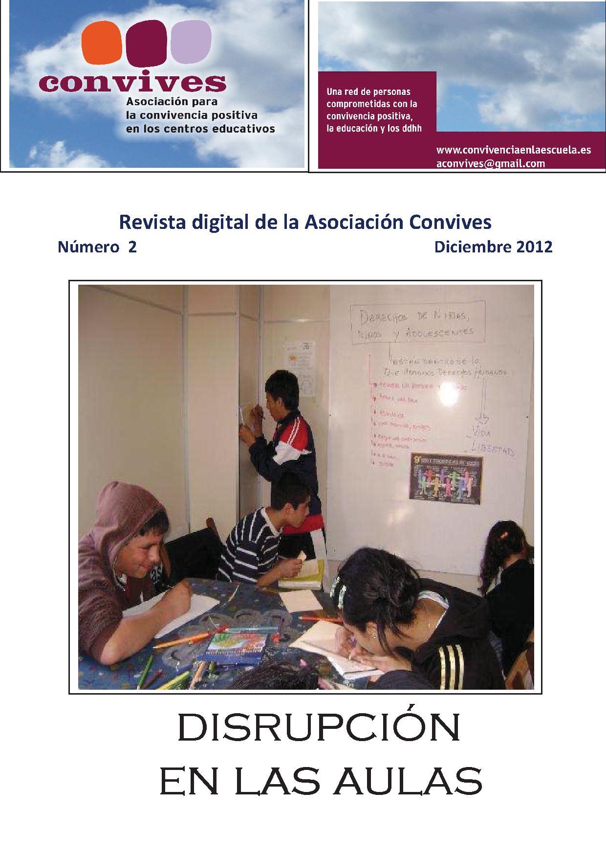 Segundo número de la Revista digital de la Asociación Convives