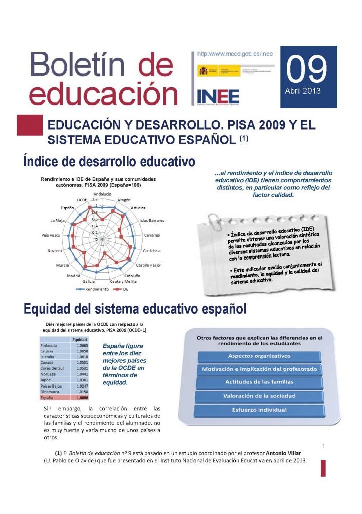 Educacion y desarrollo