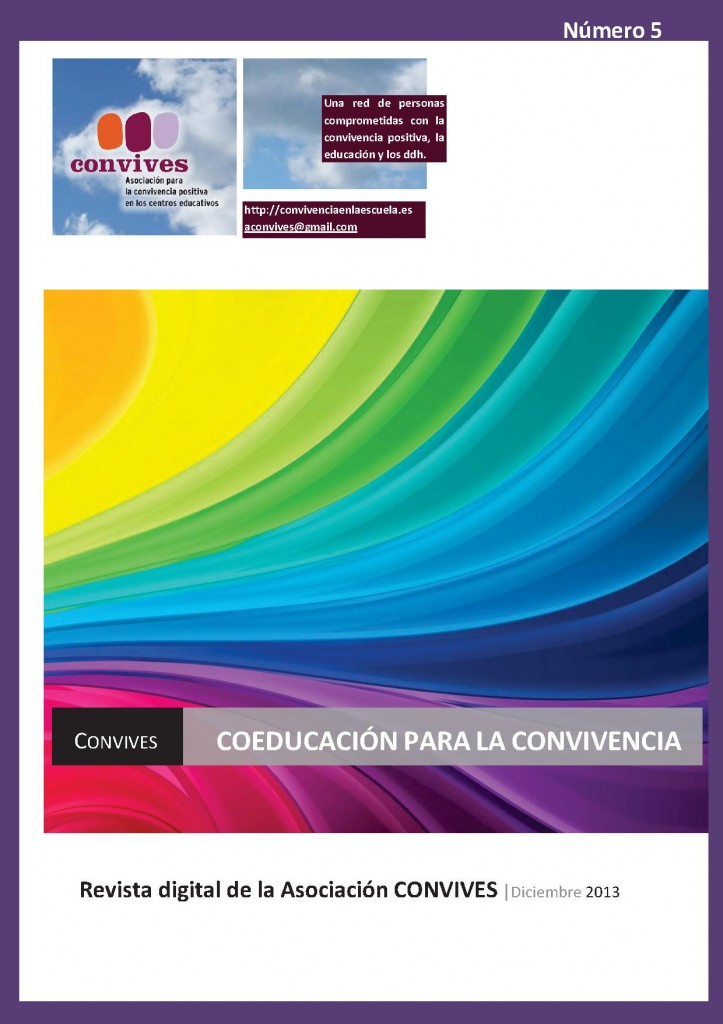 Portada Revista CONVIVES N_5 diciembre_2013