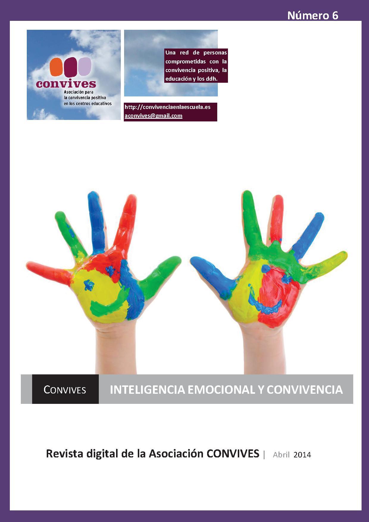 Sexto número de la Revista digital de la Asociación Convives