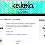 IV jornadas Euskal Eskola Publikoa